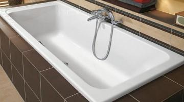 Разновидности 150 см акриловых ванн