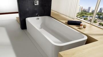 Характеристики и описание 160 см акриловых ванн