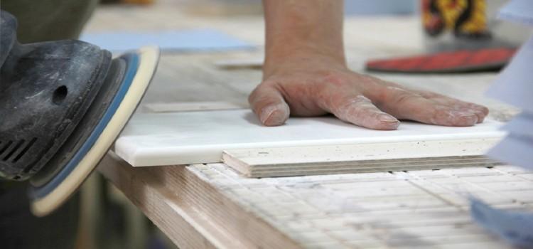 Подробный процесс производства акрилового камня