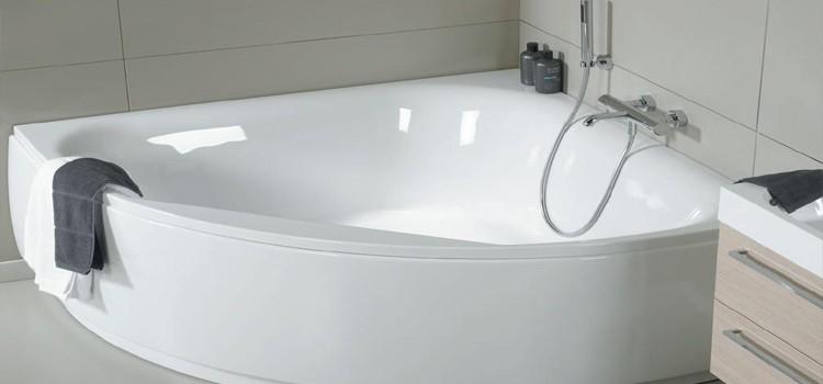 Разновидности ассиметричных акриловых ванн