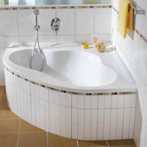 Подробное описание акриловая асимметричной ванны