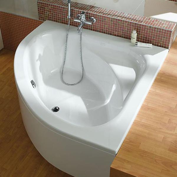 Акриловые ванны ассиметричные 150 см