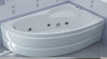 Акриловые ванны с гидромассажем для комфортного купания