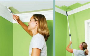 Акриловая краска для стенных работ